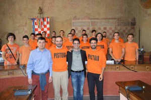 L'incontro di Bertinelli con l'Hockey Club Pistoia
