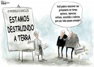 We are destroying the earth, em português