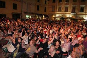 La gente in piazza durante la scorsa edizione