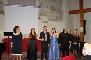 Maria Teresa, Veronica, Salvatore, Benedetta, Luca, Valentina