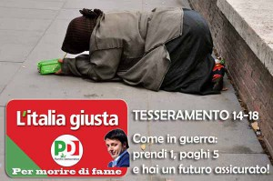 L'Italia che aspetta a braccia aperte... e a mani vuote