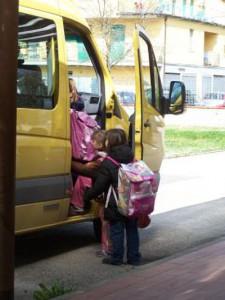 Il servizio di trasporto scolastico