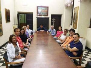 La riunione dei gruppi di maggioranza a Pescia
