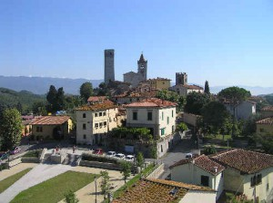 Serravalle Pistoiese. Castello