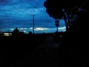 In questa strada di notte può accadere di tutto