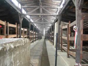 Una baracca a Birkenau