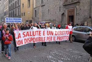 La manifestazione del 7 dicembre 2013 a Firenze