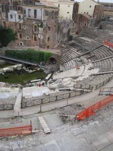 Teatro di Catania. Vista d'insieme
