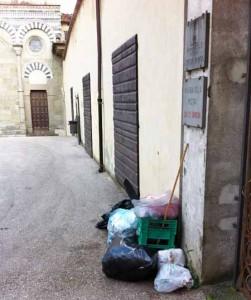 A San Bartolomeo la differenziata non c'è?