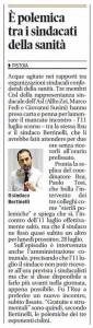 Il Tirreno/Pistoia del 26 luglio 2014
