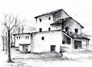 Il molino nel 1821