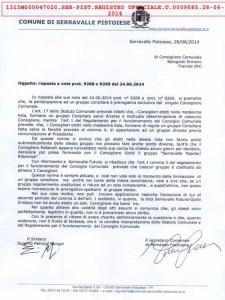 La risposta ufficiale alle domande di Bolognini
