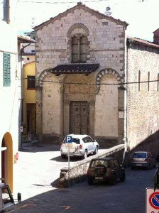 San Salvatore. Sagrato