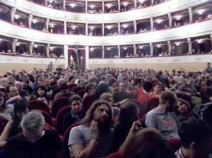 Il pubblico al Manzoni