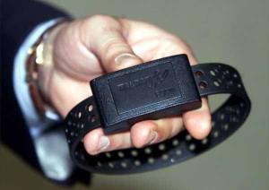 Un braccialetto elettronico