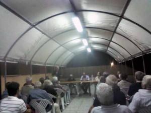 L'incontro con la Giunta a Caserana