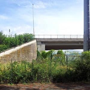 La zona intorno al Ponte Europa