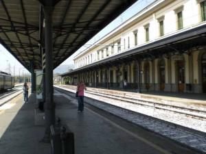 La stazione di Pistoia. 3