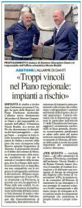 Danti e Risaliti - La Nazione 22 agosto 2014
