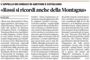 Il Tirreno, 20 agosto 2014