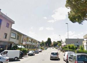 Via Fermi in Sant'Agostino