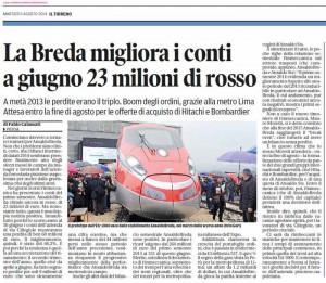 Il Tirreno, 5 agosto 2014