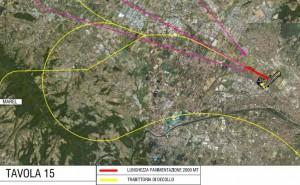 Mappa dell'area interessata da Peretola Airport