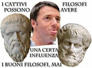 Renzi e i filosifi...