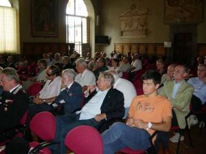 Un'immagine della platea in Sala Maggiore