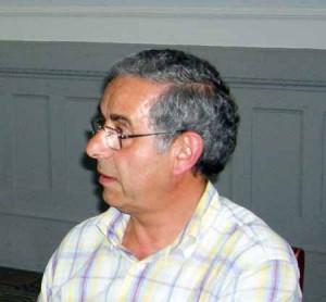 Flavio Ceccarelli all'incontro del 2 settembre a San Marcello