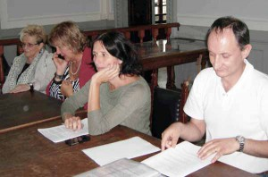 Graziella Cimeli, Carla Breschi, Eva Giuliani, Marco Ferrari