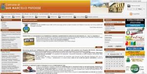 La Home Page del Comune di San Marcello Pistoiese