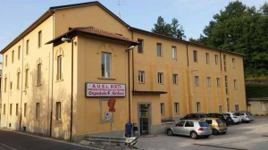 L'ospedale Grifoni di Amatrice