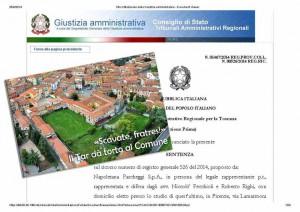 Sentenza TAR Toscana NAPOLETANA PARCHEGGI 1467_25.9.2014_Pagina_01
