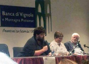 Mario Adinolfi, Renata Fabbri e Mauro Banchini
