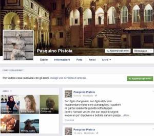 La pagina di Pasquino da Pistoia