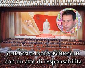Il Pcus ha democraticamente convinto Giurlani a ritirarsi