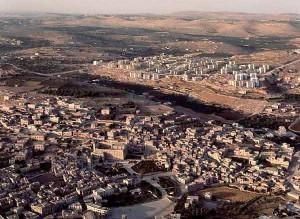 Una veduta di Hebron