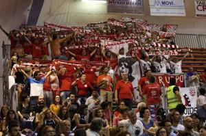 Baraonda biancorossa [Roberta Fazio/Messina Sportiva per PistoiaSport]