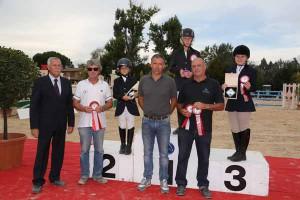 Coppa Toscana della Fise. La premiazione