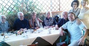 Con gli ospiti di San Pietroburgo