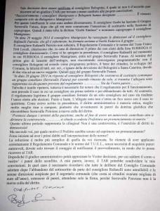 La lettera di Bolognini. 2