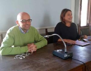 Luca Marmo e Silvia Cormio