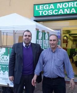 Giancarlo Noci e Massimo Bartolomeo
