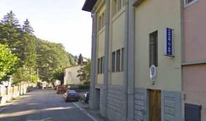 La stazione dei Carabinieri di Pracchia
