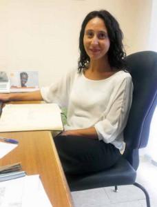 La dott.ssa Monica Marini, coordinatrice del servizio infermieristico della zona distretto Pistoia