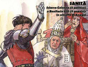 Manara - Lo schiaffo di Anagni