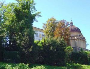 Uno scorcio di Villa Costa-Righini